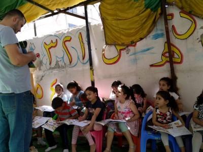 محاضرة حول حقوق الطفل - حي نزال